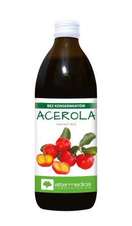 Acerola Sok 500ml 100%Witamina C